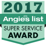 Angies List 2017 Super Service Award Logo